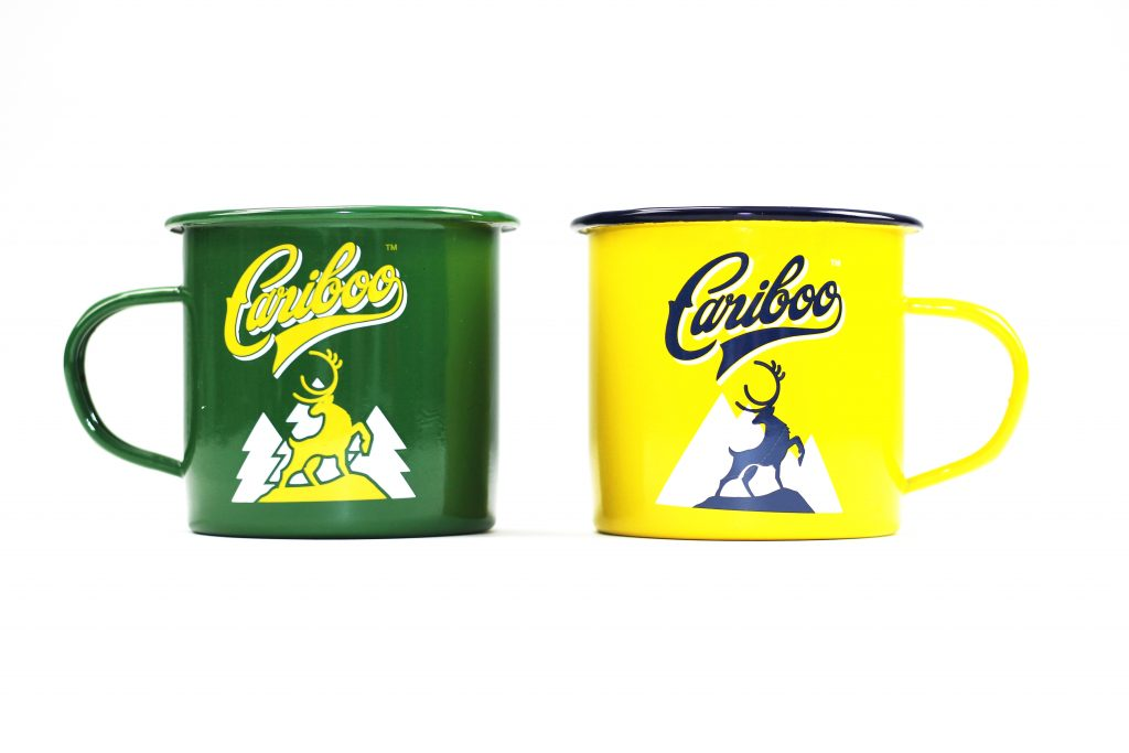 Cariboo Brewing Camping Mugs